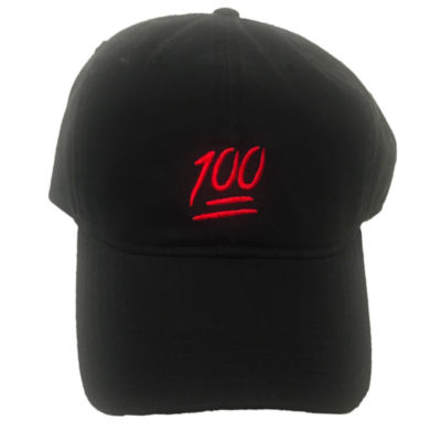 100 Embroidered Dad Cap