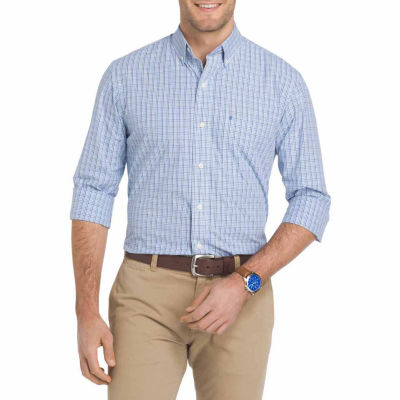 IZOD Premium Essentials Long Sleeve Button Down Shirt
