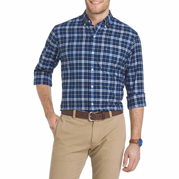 IZOD Saltwater Oxford Long-Sleeve Shirt