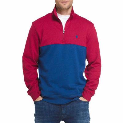 IZOD Advantage Long Sleeve Fleece Pullover Sweater