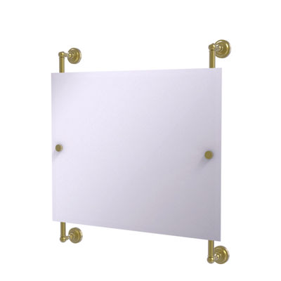 Dottingham Landscape Rectangular Frameless Rail Mounted Mirror