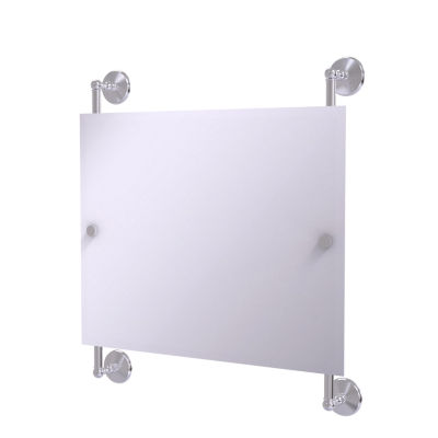 Allied Brass Monte Carlo Landscape Rectangular Frameless Rail Mounted Mirror
