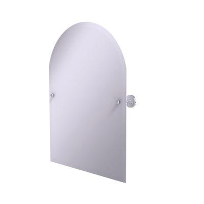 Allied Brass Dottingham Frameless Arched Top Tilt Beveled Wall Mirror