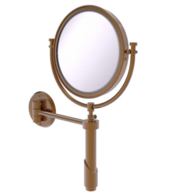 Allied Brass Tribecca Collection Wall Mounted Make-Up Mirror 8 Inch Diameter With 3X Magnification