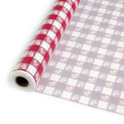 Creative Converting Gingham Banquet Roll