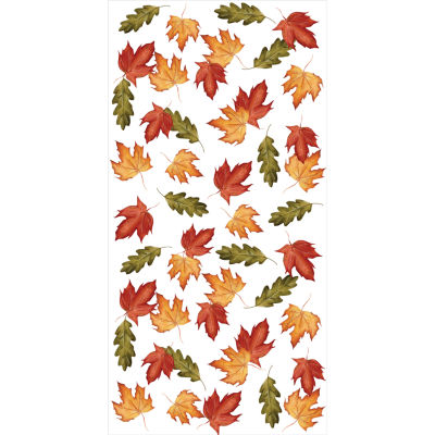 Creative Converting Leaves Banquet Tablecover Roll