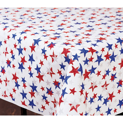 Creative Converting Patriotic Stars Banquet Roll