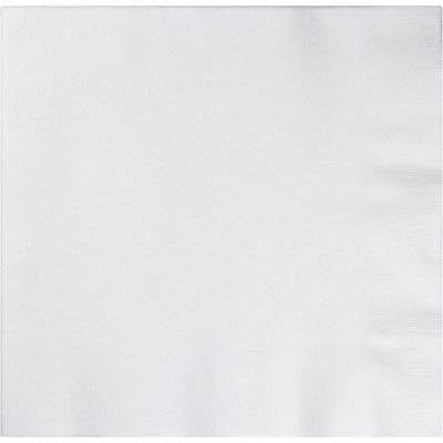 Form & Function White Buffet Airlaid Napkins