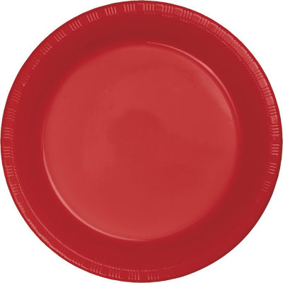 Touch of Color Plastic Plates