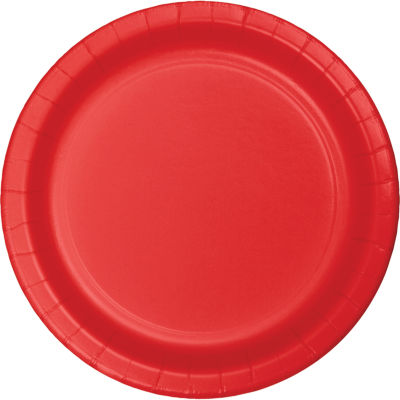 Touch of Color Paper Plates