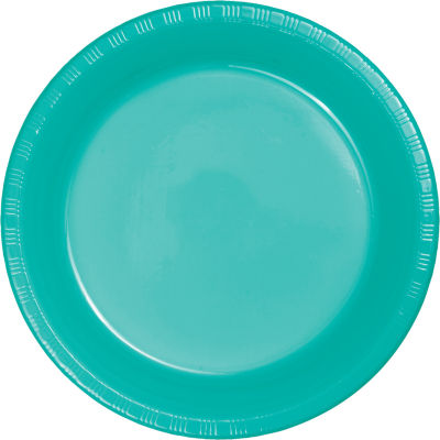 Touch of Color Premium Plastic Plates