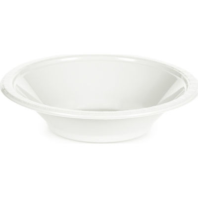 Touch of Color White Plastic Bowls