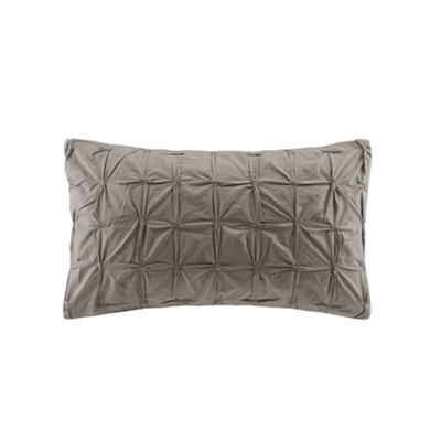 INK + IVY Jane Embroidered Oblong Throw Pillow