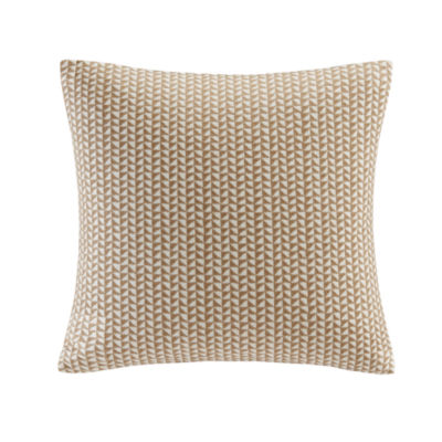 INK + IVY Tait Embroidered Block Decorative ThrowPillow