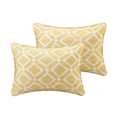 Madison Park Ella Printed Oblong Throw Pillow Pair
