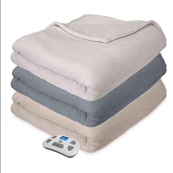 Serta Comfort Plush Heated Electric Blanket