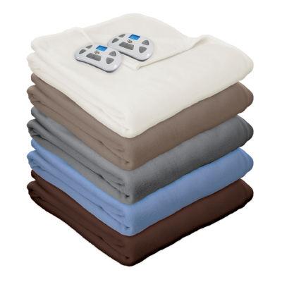 Serta Fleece Heated Electric Blanket