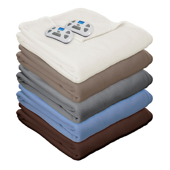 Serta Fleece Heated Electric Blanket