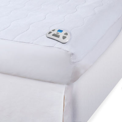 Serta Microplush Heated Mattress Pad