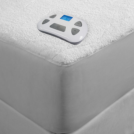 Serta Sherpa Heated Mattress Pad