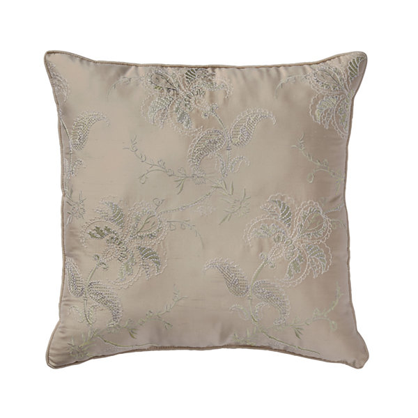 Croscill Classics Birmingham 16x16 Square Throw Pillow