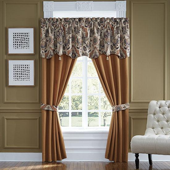 Croscill Classics Callisto Rod-Pocket Curtain Panel