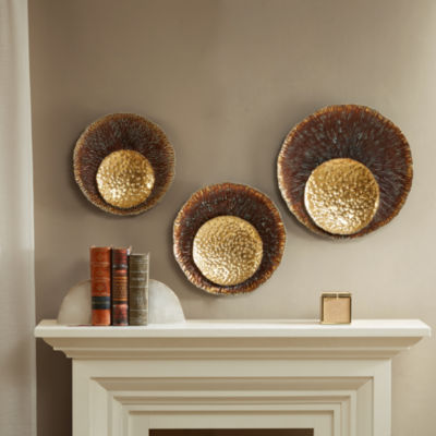 Madison Park Silas Statement Circle Wall Decor