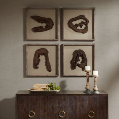 Madison Park Signature Grove Faux Wood Decor