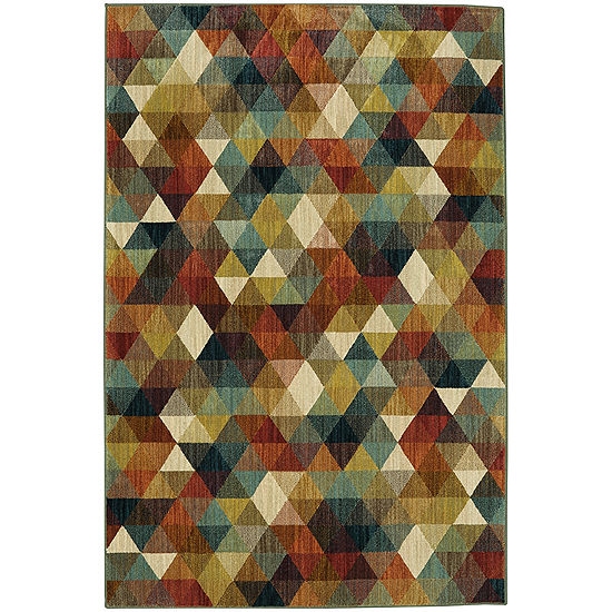 Mohawk Home Studio Diamonte Printed Rectangular Indoor Rugs