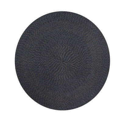 Better Trends Palm Springs Braided Round Reversible Rugs
