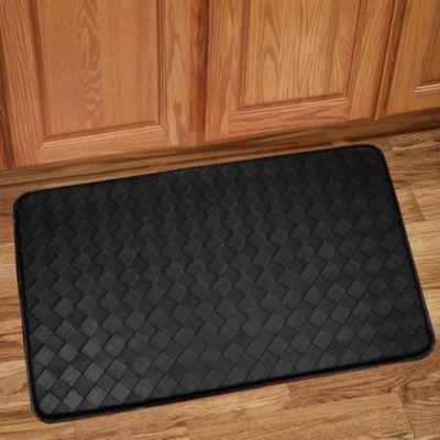 Diamond Memory Foam Anti Fatigue Kitchen Floor Mat Rug 30 x 18