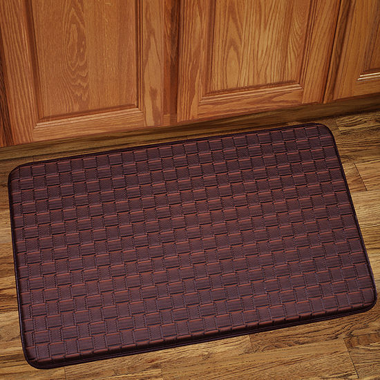 Playa Memory Foam Anti Fatigue Kitchen Floor Mat Rug 30 x 18 - JCPenney