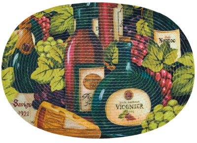 Sweet Home Collection Oval Kitchen Mat