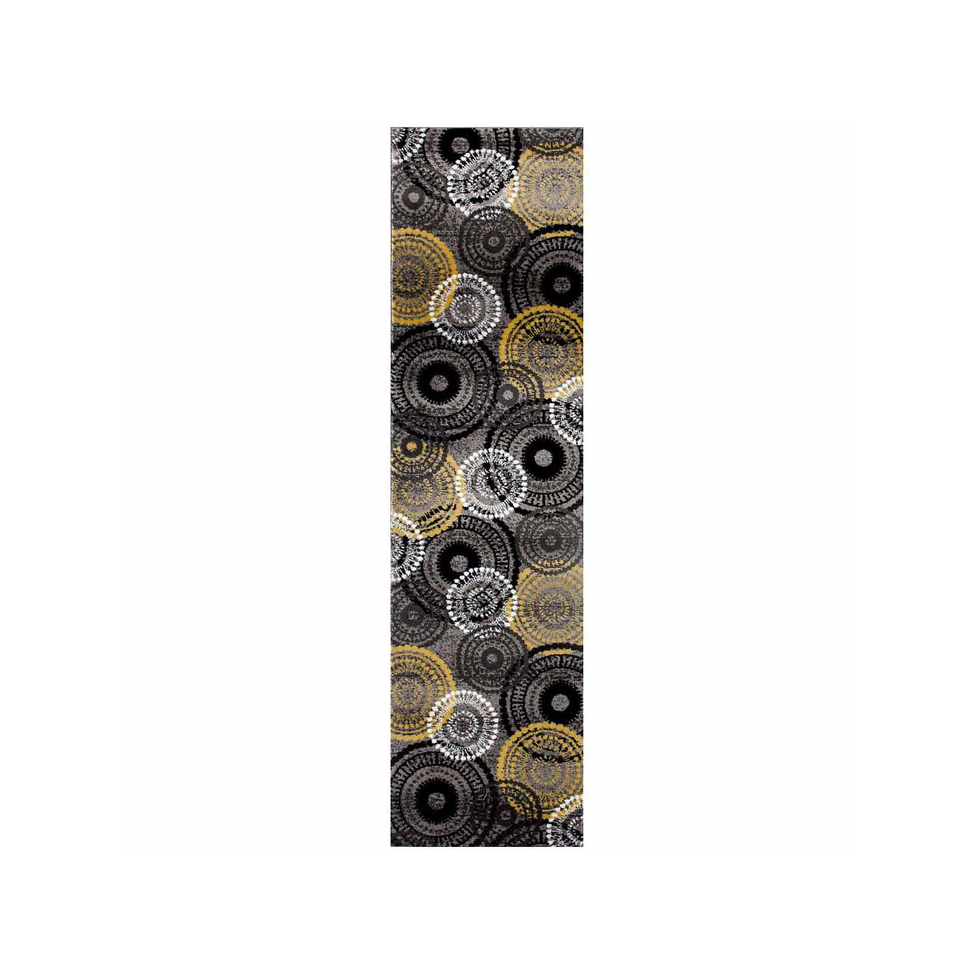 World Rug Gallery Contemporary Circles Rectangular Rugs