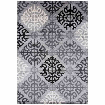 World Rug Gallery Contemporary Geometric Design Rectangular Rugs