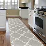 World Rug Gallery Contemporary Modern Trellis Rectangular Rugs
