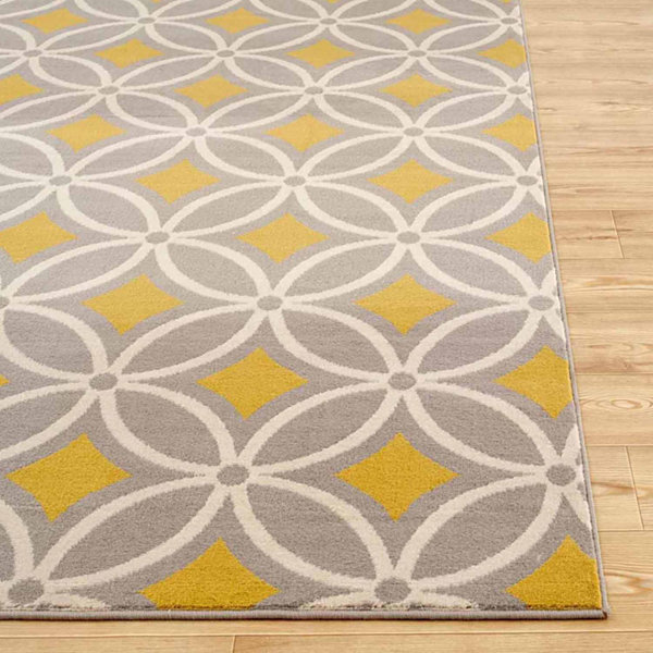World Rug Gallery Contemporary Trellis Chain Rectangular Rugs