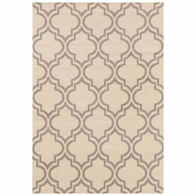 World Rug Gallery Modern Moroccan Trellis Rectangular Rugs