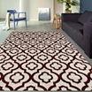 World Rug Gallery Moroccan Trellis Pattern High Quality Rectangular Rugs