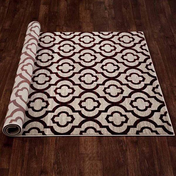 World Rug Gallery Moroccan Trellis Pattern High Quality