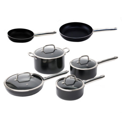 BergHOFF EarthChef Boreal Cookware Set Non-Stick Aluminum 10pc