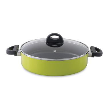 "BergHOFF Eclipse Covered Deep Skillet 2-Handle 10.25"" 3.4-qt."