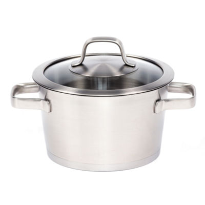 "BergHOFF Manhattan Covered Casserole 7"" 2.5-qt."""
