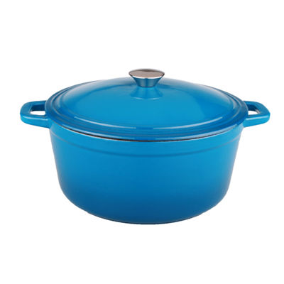 BergHOFF Neo Cast Iron Oval Covered Casserole 5-qt.
