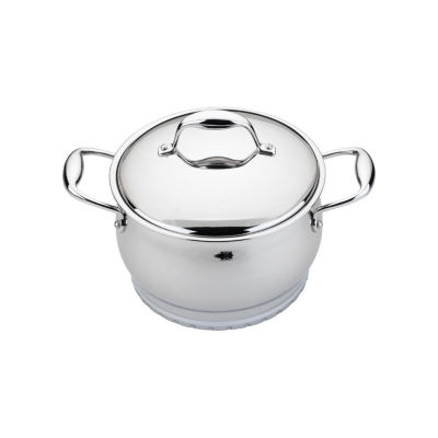 """BergHOFF Zeno Stainless Steel Covered Casserole 6.25"""" 2.1-qt."""""""