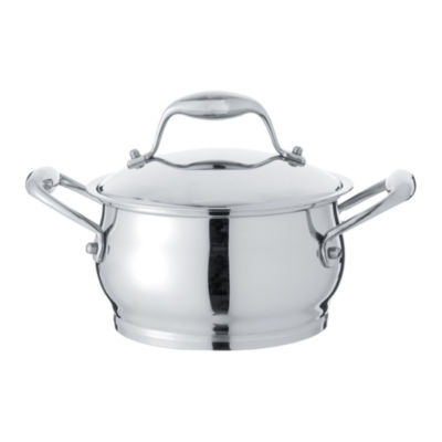 BergHOFF Zeno Stainless Steel Covered Casserole 7'' 2.9-qt.
