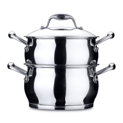 BergHOFF Zeno Stainless Steel Double Steamer 4 -qt.