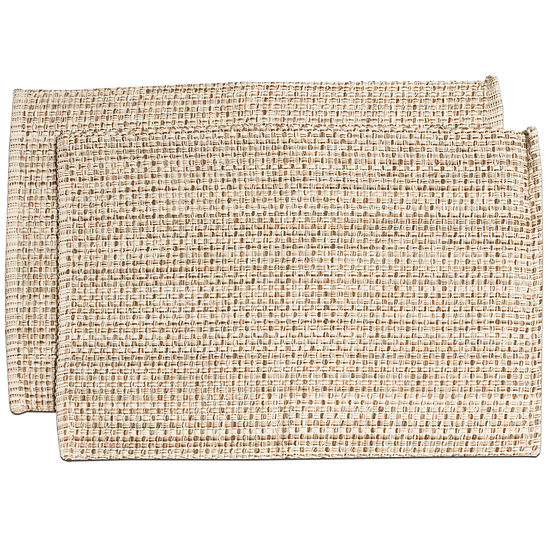 """Trends Collection Two Tone 100% Cotton Woven 13"""" x 19"""" Placemat"""