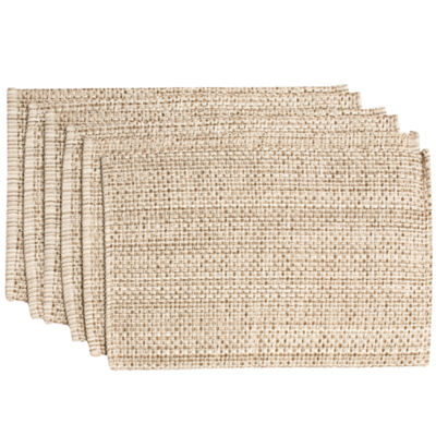 "Trends Collection Two Tone 100% Cotton Woven 13"" x 19"" Placemat"