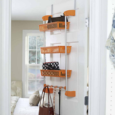 Household Essentials Over Door 3-Basket Organizer